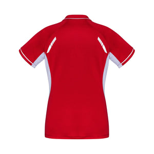 The Renegade Polo | Ladies | Short Sleeve | Red/White