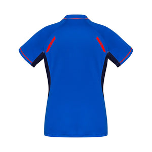 The Renegade Polo | Ladies | Short Sleeve | Royal/Orange