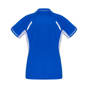 The Renegade Polo | Ladies | Short Sleeve | Royal/White
