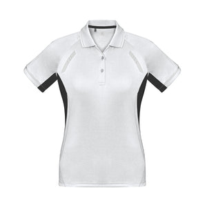The Renegade Polo | Ladies | Short Sleeve | White/Black