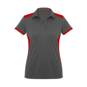 Rival Polo | Grey/Red