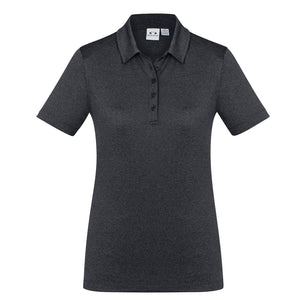 The Aero Polo | Ladies | Charcoal Marle
