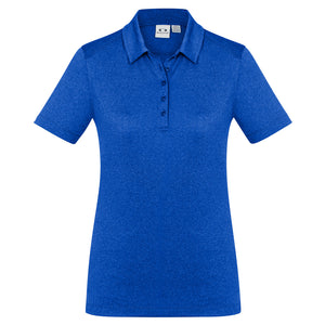 The Aero Polo | Ladies | Electric Blue Marle