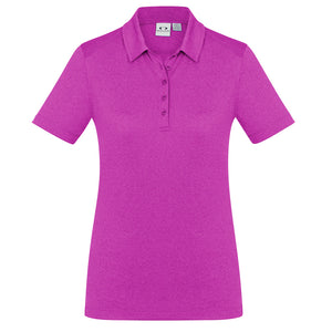 The Aero Polo | Ladies | Magenta Marle