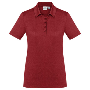 The Aero Polo | Ladies | Red Marle