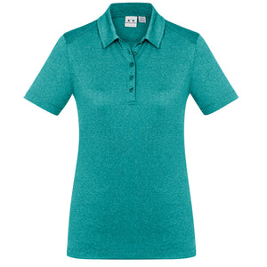The Aero Polo | Ladies | Teal Marle