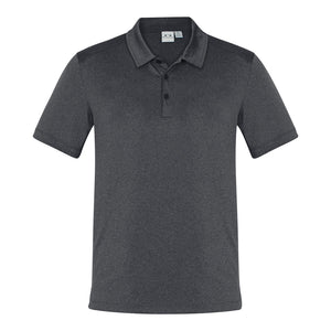 The Aero Polo | Mens | Charcoal Marle