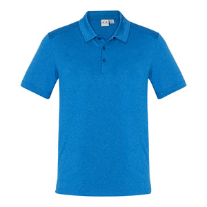 The Aero Polo | Mens | Cyan Marle