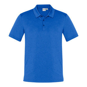 The Aero Polo | Mens | Electric Blue Marle