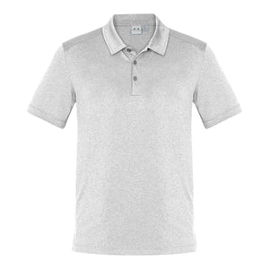 The Aero Polo | Mens | Silver Marle