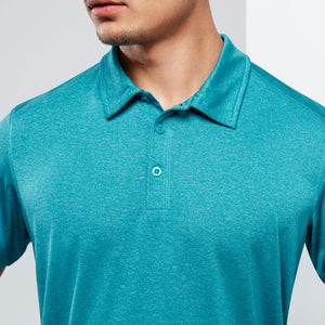 The Aero Polo | Mens | Teal Marle