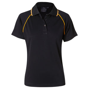 The Champion Polo | Ladies | Short Sleeve | Navy/Gold