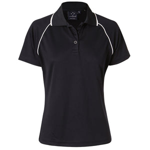 The Champion Polo | Ladies | Short Sleeve | Navy/White