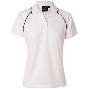The Champion Polo | Ladies | Short Sleeve | White/Navy