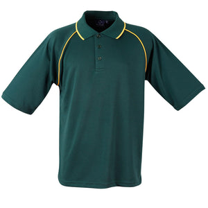 The Champion Polo | Mens | Short Sleeve | Bottle/Gold
