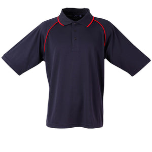 The Champion Polo | Mens | Short Sleeve | Navy/Red