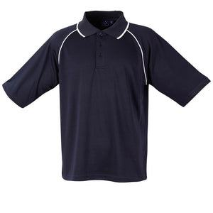 The Champion Polo | Mens | Short Sleeve | Navy/White