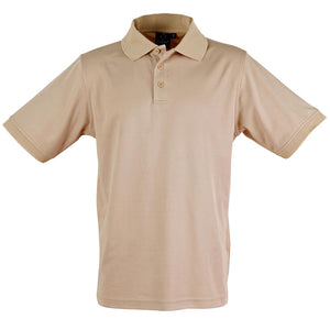 The Victory Polo | Mens | Short Sleeve | Beige