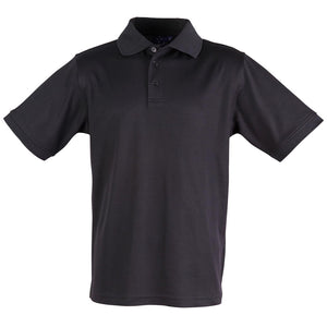 The Victory Polo | Mens | Short Sleeve | Black