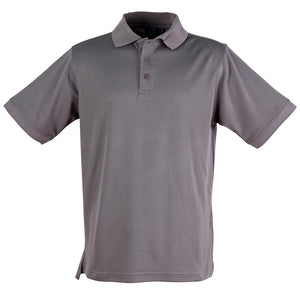 The Victory Polo | Mens | Short Sleeve | Steel Grey