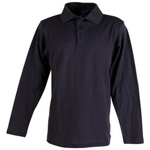 The Victory Polo | Mens | Long Sleeve | Navy