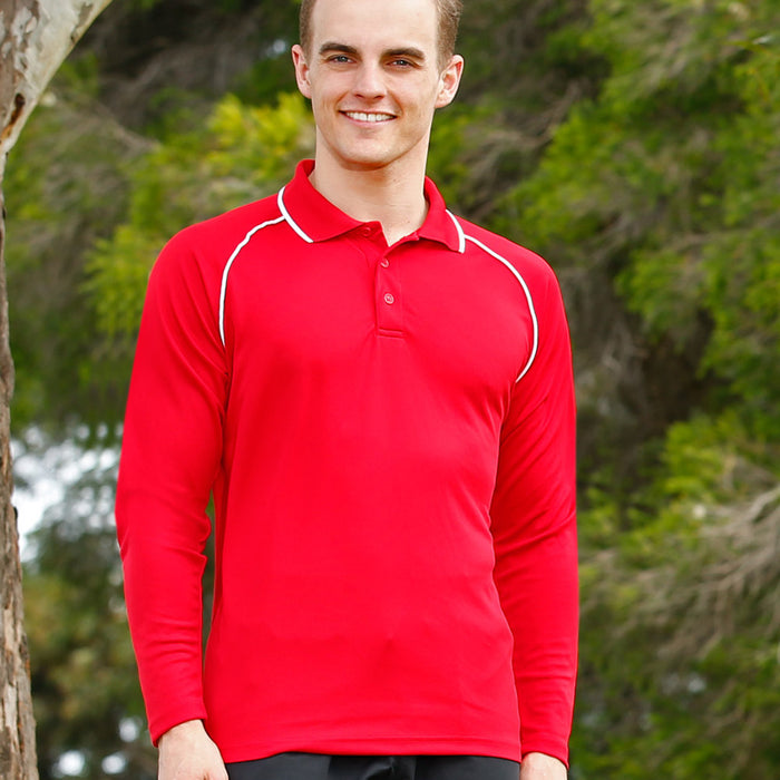 The Champion Polo | Mens | Long Sleeve