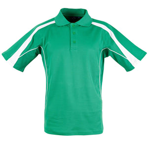 The Legend Polo | Mens | Short Sleeve | Emerald Green/White