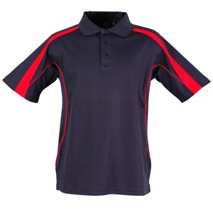 The Legend Polo | Mens | Short Sleeve | Navy/Red