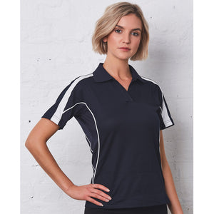 The Legend Polo | Ladies | Short Sleeve | Navy/White