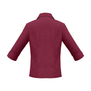 The Oasis Shirt | Ladies | 3/4 Sleeve | Cherry