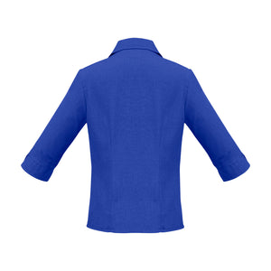 The Oasis Shirt | Ladies | 3/4 Sleeve | Electric Blue