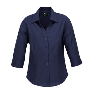 The Oasis Shirt | Ladies | 3/4 Sleeve | Navy