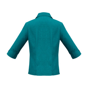 The Oasis Shirt | Ladies | 3/4 Sleeve | Teal