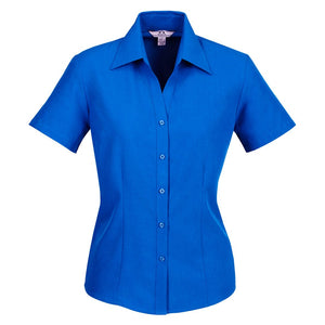 The Oasis Shirt | Ladies | Short Sleeve | Electric Blue