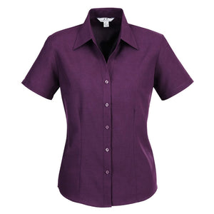 The Oasis Shirt | Ladies | Short Sleeve | Grape