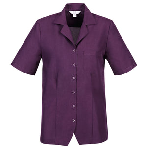 The Oasis Shirt | Ladies | Overblouse | Grape