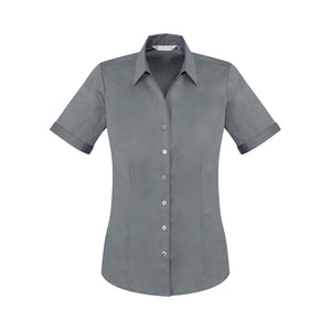 The Monaco Shirt | Ladies | Short Sleeve | Platinum
