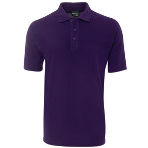 The Pique Polo | Mens | Short Sleeve | Purple