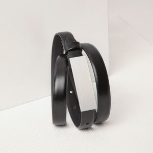 The Buckle Belt | Ladies | Black