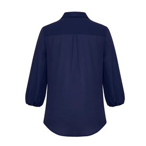 The Lucy Blouse | Ladies | 3/4 Sleeve | Navy