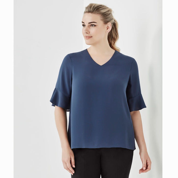 The Aria Blouse | Ladies | Short Sleeve