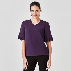 The Aria Blouse | Ladies | Purple Reign
