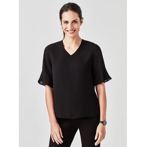 The Aria Blouse | Ladies | Black