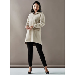 The Celeste Coat | Ladies | Stone
