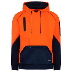 Waterproof Hi Vis Hoodie Pullover | Orange