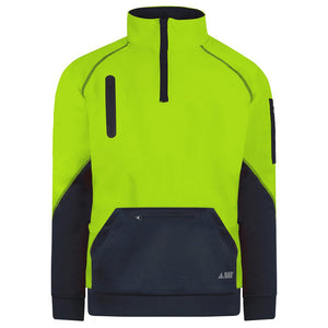 Waterproof Hi Vis Pullover | Yellow
