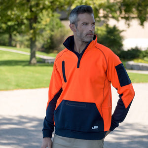 Waterproof Hi Vis Pullover | Orange