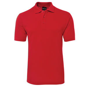 The Pique Polo | Mens | Short Sleeve | Red