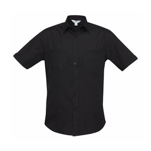 The Bondi Shirt | Mens | Short Sleeve | Black