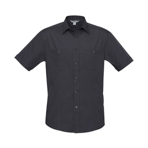 The Bondi Shirt | Mens | Short Sleeve | Charcoal